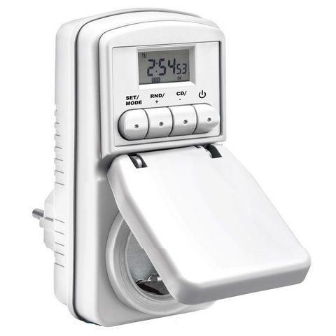 HARGUMS Taff Digital Timer Switch with IP44 Waterproof - WT001