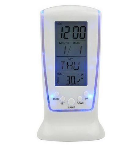 HARGUMS LED Night Light Backlight Alarm Clock with Temperature - 510