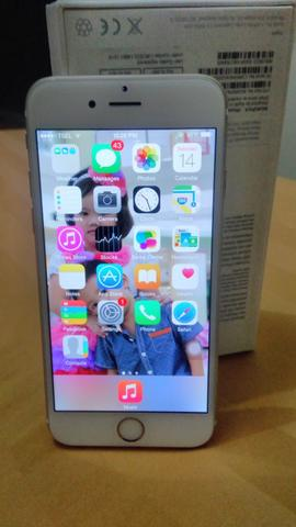 Iphone 6 Gold 16 GB fullset .... ex ibox