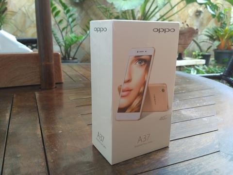 OPPO A37f GOLD NEW [SEGEL]