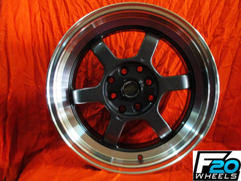 velg TE37V ring 17x8/9 doble fcd.4x100/4x114,3 offset.35/25gml