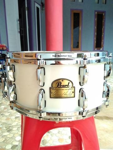 snare pearl signature dennis chamber