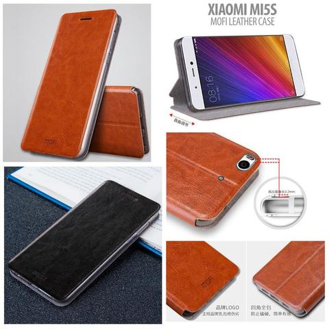 Aksesoris Xiaomi Mi5s - Mofi Leather Case
