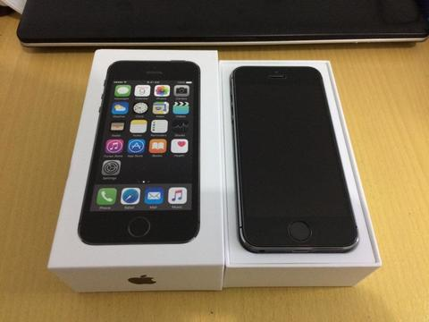 Apple iPhone 5S 16GB Space Dray Like New Ex Garansi Resmi TAM