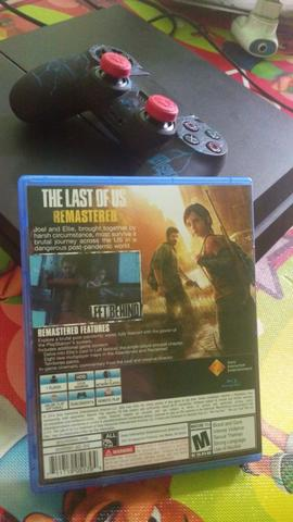 BD PS4 The Last Of Us Remastered