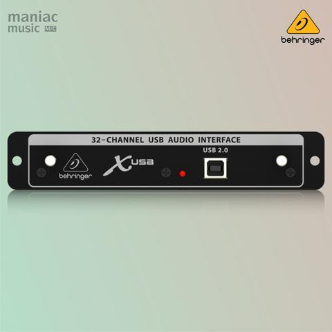 Behringer X USB (X32 Expansion, 32 Channel High Speed Soundcard Recording)