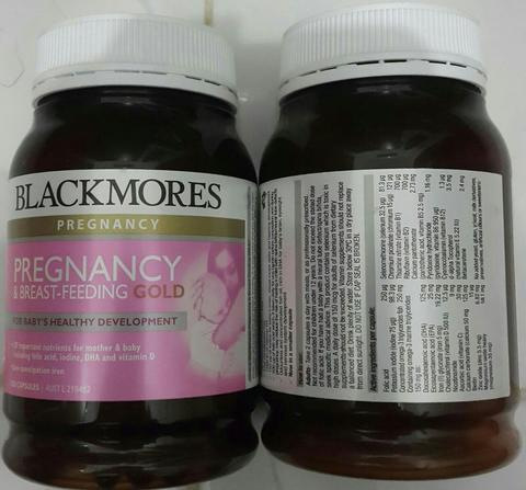 Blackmores Pregnancy and Breast Feeding 180 Kapsul