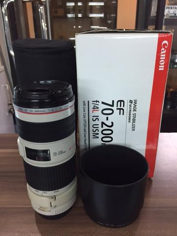 Canon 70-200mm f/4 L IS USM
