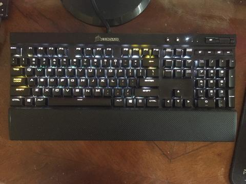 [FS] Corsair K70 Rapidfire RGB -99.9% Mint Condition-