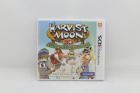 Harvest Moon 3D A New Begining Nintendo 3DS