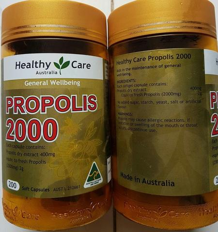 Healthy Care Propolis 2000mg 200 Kapsul