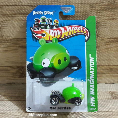 HOT WHEELS ANGRY BIRDS MINION PIG HW IMAGINATION 35/247 AKTA