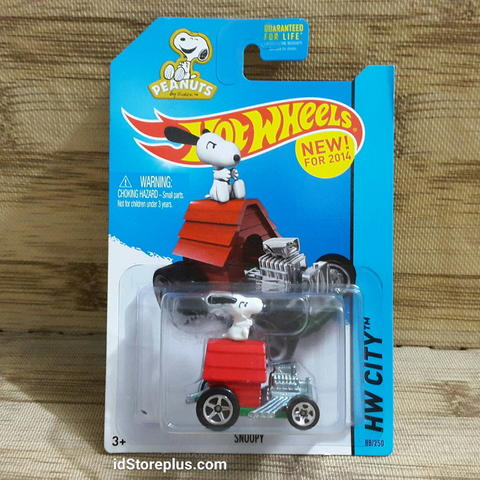 HOT WHEELS SHOOPY HW 5SP HW CITY 88/250 TOONED II