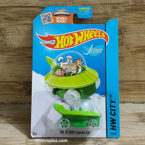 HOT WHEELS THE JETSONS Capsule Car HW CITY 57/250 US CARD