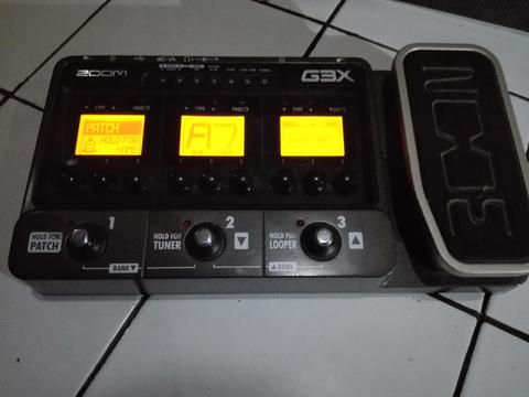 "Multieffect Guitar "" Zoom G3X """