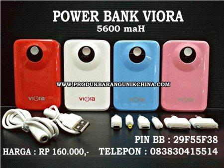 POWERBANK VIORA 5600 maH