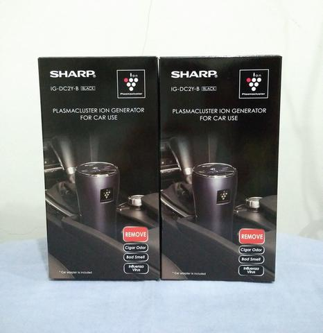 Sharp Car Air Purifier Plasmacluster IG-DC2Y-B Hitam