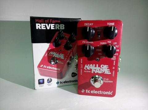 Tc Electronic Hall of Fame HoF Reverb