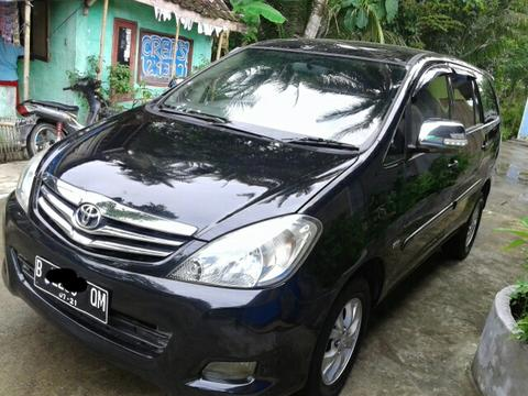 Toyota Innova G 2010 Manual