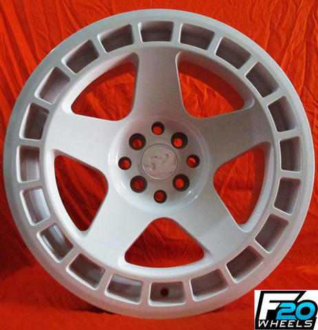 velg turbo ring 17x75/85 doble fcd.4x100/114,3 offset.45/38 white