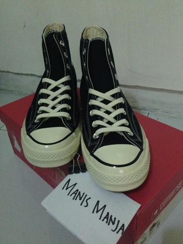 WTS converse 70 s 1st string b/w size 9.5 free ongkir