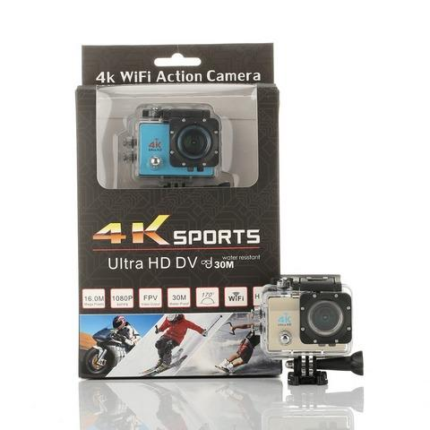 Sportcam 4k Ultra Hd 16 Mp Wifi 1080p