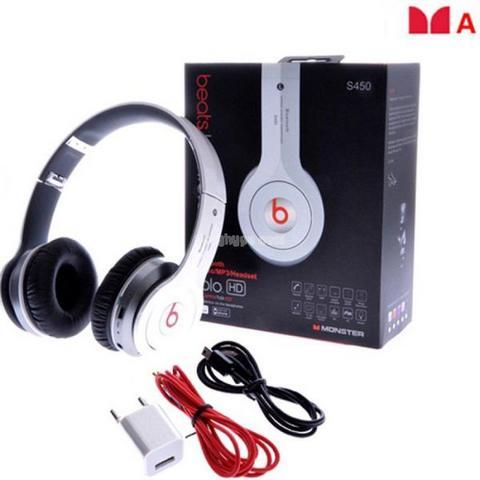 Headset Bluetooth + Port Micro Sd ( Beats S 450 )
