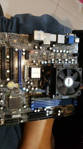 J> AMD Phenom X2+ MOBO MSI 785GM-E51