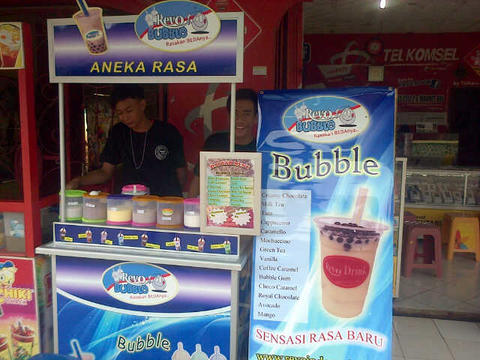 Franchise Tahu Crispy dan Bubble drink