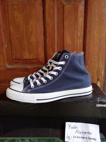 Terjual Converse CT All Star High Navy  2cc482d898