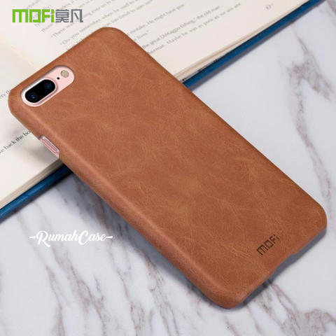 "iPhone 7 PLUS 5.5"" - Original MOFI Premium Leather Hard Case Casing"