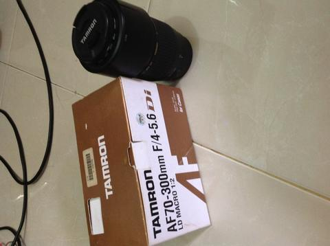 Tamron AF 70-300mm F4-5.6 LD Macro 1:2 for Canon