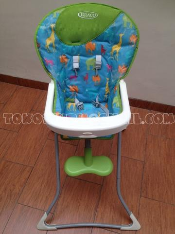 Graco Tea Time Highchair - Animal Print