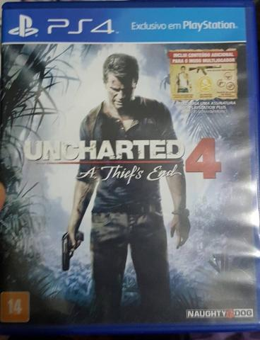 Uncharted 4 : A Thief's End Reg All Ps4