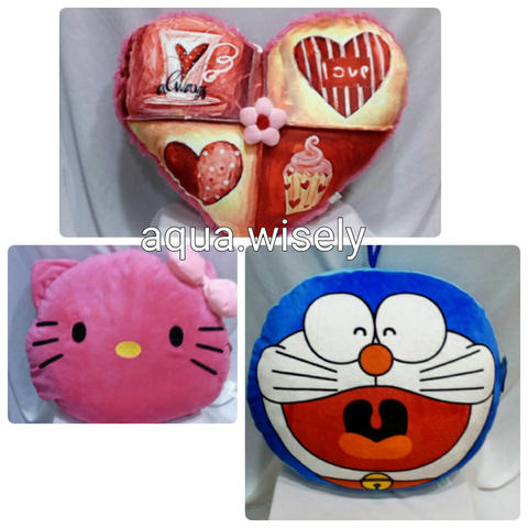 Bantal - Bantal Boneka - Bantal Love - Bantal Doraemon - Bantal Hello Kitty