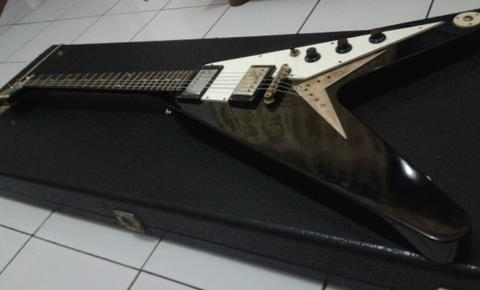 Epiphone Flying V Korina 1958 Vintage Gold Hardware