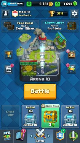 Akun Clash Royal
