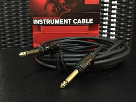 D'addario Planet Waves PW-AG-20 Circuit Breaker Instrument Cable