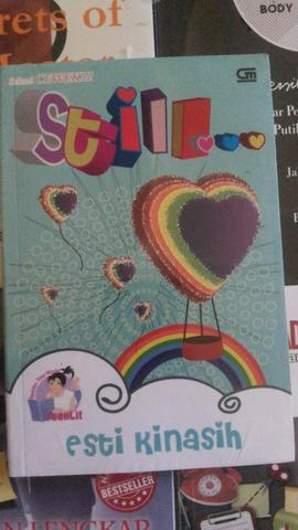 Novel TeenLit : Still... (Cover Baru) By Esti Kinasih