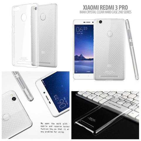 Aksesoris Xiaomi RedMi 3 Pro - Imak Crystal Clear Hard Case 2nd Series