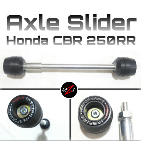 Axle Slider CBR250RR / CBR 250 RR - pelindung as roda