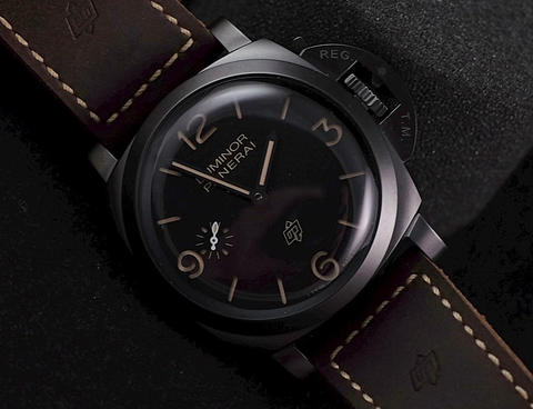 BNIB Panerai PAM617 Luminor 3 Days Titanio DLC 47mm SpecialEdition 300Pcs