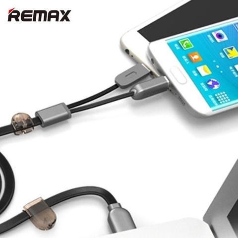 Cable Kabel Charge REMAX Sametime Lightning Plus Micro USB