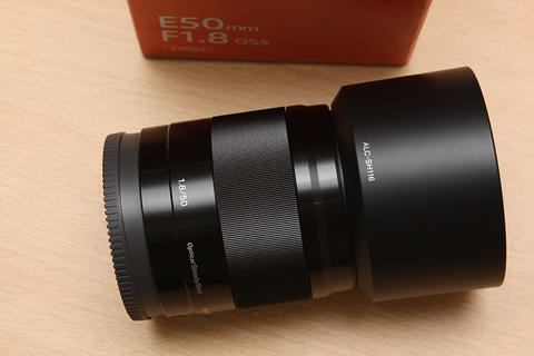 [ CAMERA GOODS ] FS Sony E 50mm F1.8 OSS Black - Sony Indo Des 2017