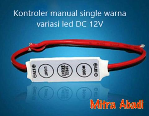 Driver Mono/Single Colour Manual Controller