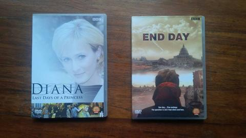 DVD Original Diana dan End Day