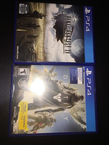 Final Fantasy XV & DESTINY BD playstation 4 ps4