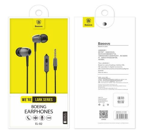 Headset Baseus Lark Boeing Earphone