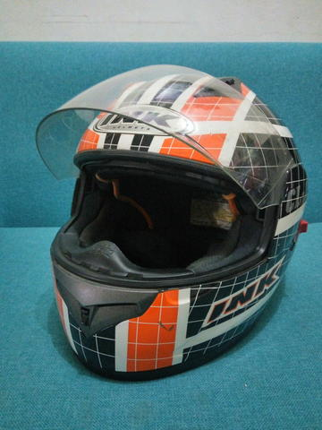 Helm Fullface INK type CL-1 Double Visor