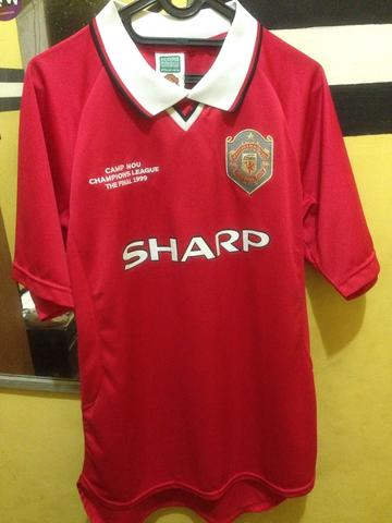 JERSEY MU CLASSIC ORI EDISI CAMPNOU CHAMPIONS LEAGUE THE FINAL 1999